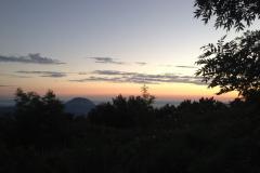 Гора Змейка на закате