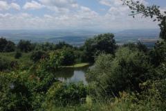 Монастырское озеро под горой Бештау